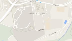 Hotelová škola Radlická na mapě