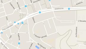 Střední škola Náhorní na mapě
