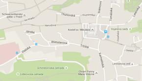 Akademie J.A. Komenského na mapě
