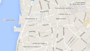 Divadelní fakulta AMU Praha na mapě