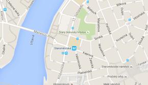 Filozofická fakulta UK Praha na mapě