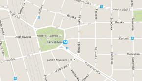 Arcibiskupské gymnázium na mapě