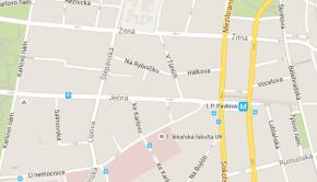 Vyšší zdravotnická škola Suverénního řádu maltézských rytířů na mapě